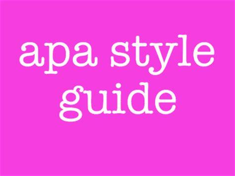 APA PDF Citation APA Format