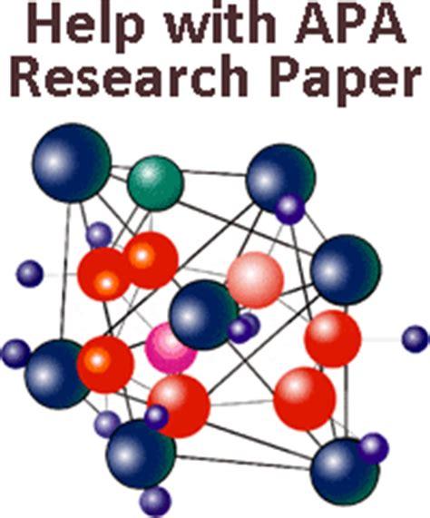 Organizing a research paper apa citation