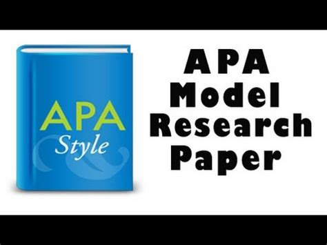 How to Cite References in APA Format Pen and the Pad